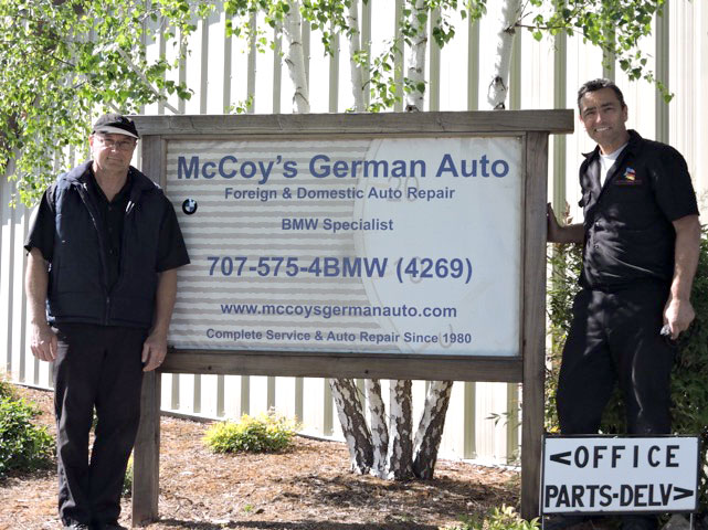 Trust your car to McCoy's German Auto and McCoy's Foreign and Domestic Auto Repair